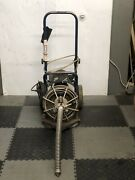 Used Electric Eel Z5 1/2 X 50and039 Autofeed Sewer Snake Pipe Cleaner Floor Drain