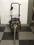 Used Electric Eel Z5 1/2 X 50' Autofeed Sewer Snake Pipe Cleaner Floor Drain