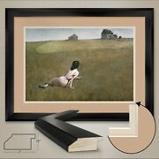 44wx32h Christinaandrsquos World By Andrew Newell Wyeth Double Matte Glass And Frame