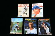 Los Angeles Dodger Sports Illustrated Collection - 5 Different 1950s And 1960s
