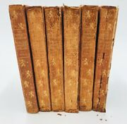 Rare - The Complete Works Of William Shakespeare Vol 1-6 - Thomas Nelson And Sons