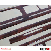 Wooden Look Dashboard Console Trim Kit 16 Pcs For Mercedes C-class W202 1993-199