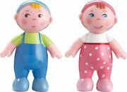 Haba 302010 Little Friends Babies Marie And Max Doll Set