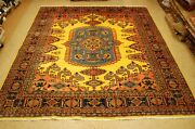 C1930s Antique Caucasian Vees Room Size Rug 8and0398x10and039 Gold Field_more Rugs Listed