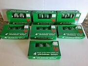 New 28 Replacement C-9 1/4 Christmas Light Bulbs Lamps Clear In And Outdoor Vtg