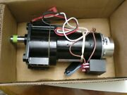 Bison Ac Gear Motor 016-248-0120 13.8 Rpm. 1191 Ratio With Power Off Brake