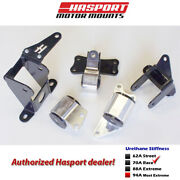 Hasport Stock Replacement Engine Mount Kit 2012-2015 For Civic Si Fg4stk-70a