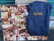 The Temptations Melvin Franklin David English Original Pants And Photo Collage