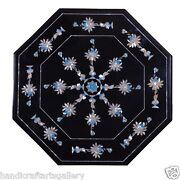 1and039x1and039 Marble Marble Flooring Mother Of Pearl Marquetry Inlay Patio Decor Gift