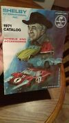 Carroll Shelby Catalog Wheels And Accessories 1971 With Ken Miles 1 Lemans Car