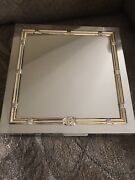 Vintage Silver And Brass Plated Humidor Cigar Box Rare Collectors Item