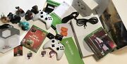 Xbox One S 1 Tb Controllers 6 Games Disney Infinity 3.0 Star Wars Marvel Sully