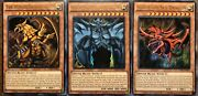 Yugioh Limited Edition Egyptian Gods / Pendulum And Link Monsters