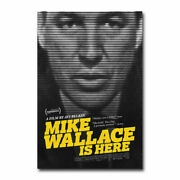 20a340 Mike Wallace Is Here Documentary Movie Art Poster Silk Deco 12x18 24x36