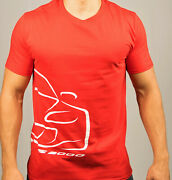 New Honda S2000 T-shirt Red W/white Outline Jdm Vtec Acura Racing Japan Ap1 Ap2