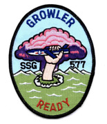 5.12 Navy Ssg-577 Uss Growler Embroidered Patch