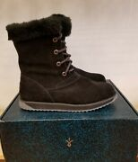 New In The Box Emu Shaw Lo Waterproof Black Boots Winter For Women