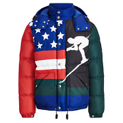 Polo Mens Quilted Down Puffer Cp93 Ski Downhill Skier Jacket Coat