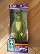 Unopened Rare Sleestak Coin Bank Signed By Show Creators Sid And Marty Krofft