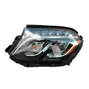 Led Headlight Assembly Left Side 1668202700 Fits 2017-2018 Mercedes-benz Gls450