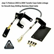 For Jeep 2004 Rubicon Transfer Case Cable Conversion Shifter Kit J0048480