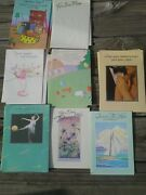 Greeting Card Lot 34 Assorted Buzza Gibson Unsigned Scrapbook Crafts Vintage