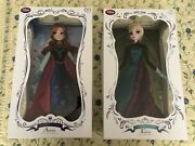 Disney Store Anna And Elsa Limited Edition Dolls 1/5000