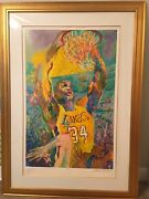 Shaq - Hand Signed By Leroy Neiman Shaquille Oand039neal Andnbsp Andnbsp Andnbsp Andnbsp Andnbsp Andnbsp Andnbsp Andnbsp Andnbsp Andnbsp Andnbsp