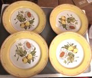 George Brinard Somerset Salad Plates.set Of 4 Measures 7 1/2 Inches. Exc. Cond