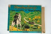 Vintage 1950 Hopalong Cassidy Stage Coach Holdup Box Only