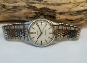 Used Vintage 1965 Omega Seamaster Cream Dial Automatic Cal550 Manand039s Watch