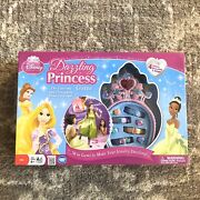 Disney Dazzling Princess Board Game Tiaras Jewelry Dress Up 2012 Edition New