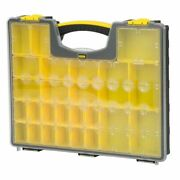 Stanley 25-compartment Sturdy Shallow Pro Small Parts Organizer Tool Storage Box