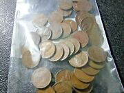 Lot Of 250 Pennies 1930and039s-1950and039s Wheat