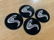 Set Of 4 Oem Decals For Alcoa Super Snake Gt500 20inch Center Caps Shelby