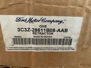 Ford Oem Front Seat Belt Buckle-retractor Assy Right 3c3z28611b08aab