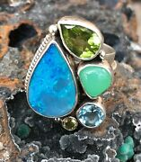 Echo Of The Dreamer Mars And Valentine Lucky Opal Ring Rd1040