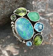 Echo Of The Dreamer Mars And Valentine Exquisite Opal Ring Rd1045