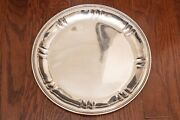 Arthur Stone Sterling Silver Early 20th Century Tray, Vintage 11.5 Platter 657g