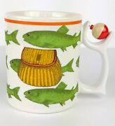 Fishing Mug Department 56 Spinners Creel Fish Spinning Bobber Fathers Day Funny