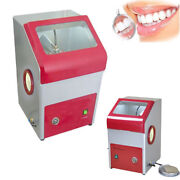 Dental Lab Porwerful Recyclable Sandblaster With Lighting Air Tube 3mm Nozzle