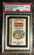 1974 Topps Wacky Packages Emptimo Cigars 7th Series Psa 9 Mint Non-sport Card