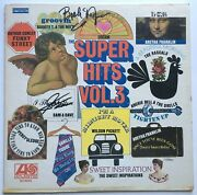 Sam Moore And Booker T Jones Signed Lp Autograph Sam And Dave