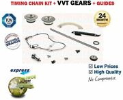 For 939a6.000 939a5.000 Engine New Timing Chain Kit + Cam Vvt Gear Set + Guides