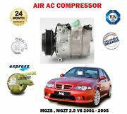 For Mgzs Mgzt 180 190 2.5 V6 2001-2006 Ac Air Conditioning Compressor Unit
