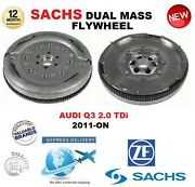 For Audi Q3 2.0 Tdi 2011-on Sachs Dmf Dual Mass Flywheel With Mounting Bolts