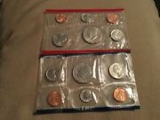1987 Us Mint Uncirculated Coin Set-envelope Included.
