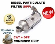 For Peugeot 307 110bhp 1.6 2007- Dpf Diesel Particulate Filter + Cat Combined