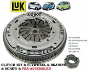 For Smart Cabrio City Fortwo 0.8 Cdi Diesel 41bhp Clutch Kit And Flywheel Complete