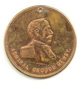 1899 Admiral George Dewey Coin Kirkmanand039s Borax Soap Advertising Medal